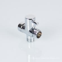 3 way Brass Faucet Diverter Valve Water Separate Water Diverter for Shower Kit