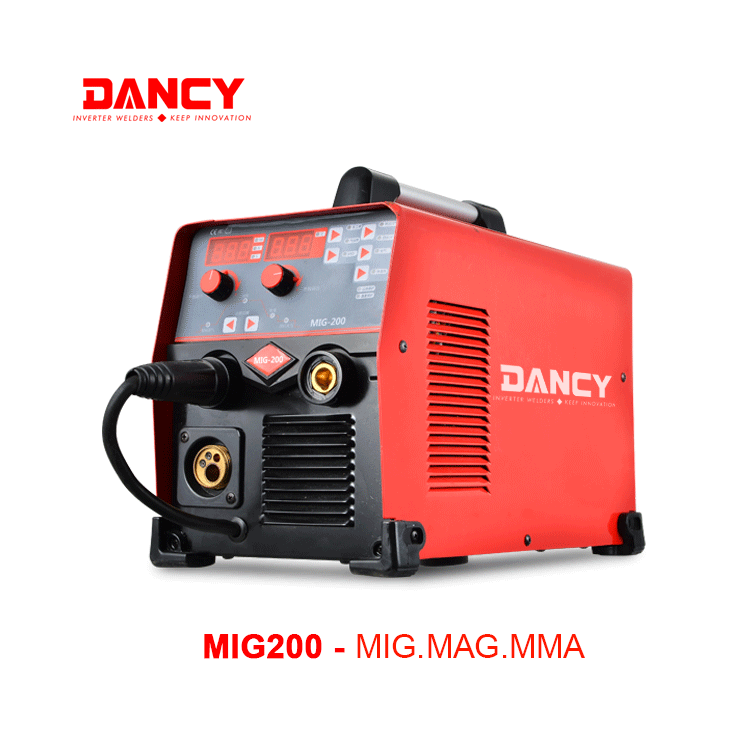 MIG200 Mig welding machine 200A Gas or gasless welding