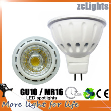 Spot LED GU10 MR16 COB 6W lámpara LED (MR16-A6)