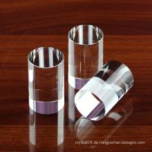 Delicate K9 Crystal Kreiszylinder, Crystal Spalte, Crystal Pillar