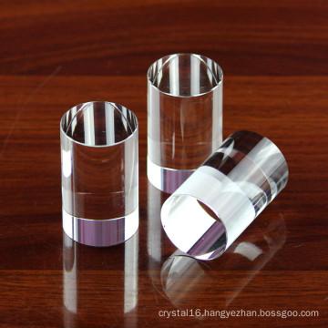 Delicate K9 Crystal Circular Cylinder, Crystal Column, Crystal Pillar