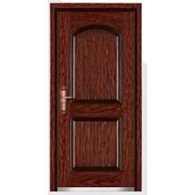 Puerta blindada de acero con buena superficie