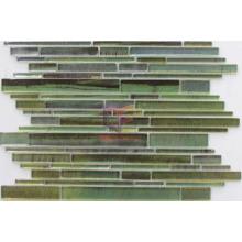 Impressionism Style Mixed Size Strip Glass Mosaic (CFS610)