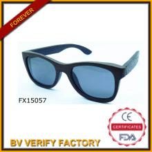 Mode 2015 Unregelmäßigkeit Holzbrille (FX15057)
