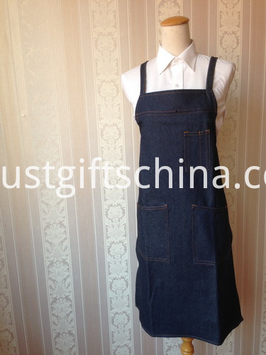 Custom Full Bib Denim Aprons