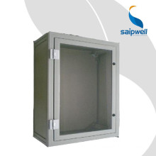SAIP/SAIPWELL Customized Communication Cabinet PVC Outdoor 400*350*300 Distribution Panel Box