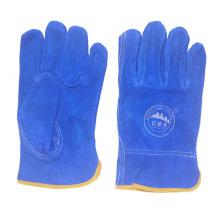 Перчатки для вождения Ab Grade Cow Split Leather Safety Рабочие перчатки для вождения