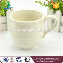 Горячая продажа Оптовая Кружева дизайн керамической чашки кофе завод