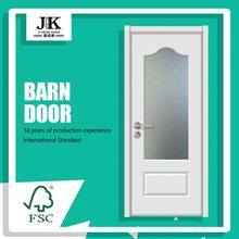 JHK-G08 Best Product Bevelled Glass French Doors Panels