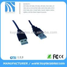 Alta calidad A estrenar 1.5M 5Ft USB 2.0 A-Male al cable de extensión de la A-Hembra