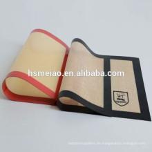 Beliebte Verkauf leicht gereinigte Silikon Backmatte