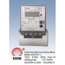Electric Meters,Multirate Meters with Single Phase