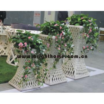 Wicker Rattan Jardineira Jardim Pot Garden Produtos Bp-F08