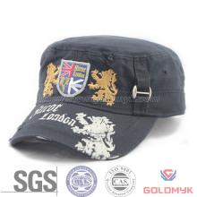 Custom Fray Washed Army Hat (GKA05-F00001)