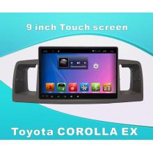 Système Android Car DVD Player GPS pour Toyota Corolla Ex Ecran tactile de 9 pouces