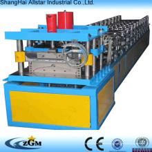 Venda quente! PLC controle Metal telhas cumeeira rolo formando máquina/Ridge Cap Perfiladeira máquina/cumeeira faz a máquina