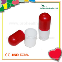 Capsule Shape Plastic Box for Promotional Gifts