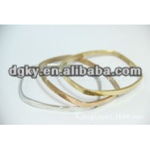 Low price surgical stainless steel no deformation bangle