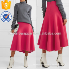 Fuchsia Bandage Midi Skirt Manufacture Wholesale Fashion Women Apparel (TA3022S)