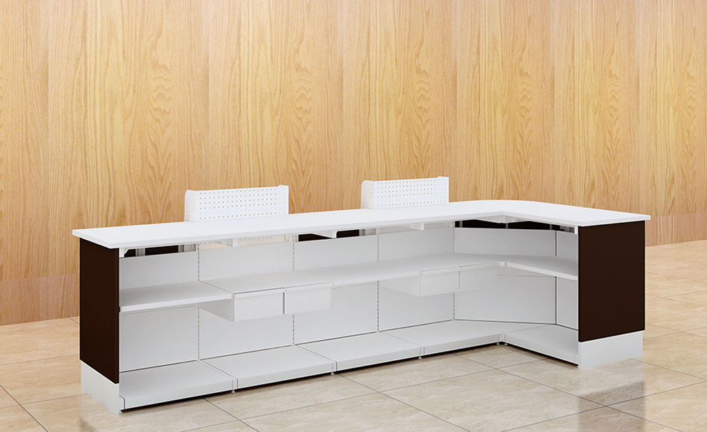 Stainless Steel Cashier Counter