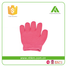 Security Spa Moisturizing Gel Pink Gloves Skin Care Manicure Kit Moisturizing Silicone Gel Spa Slaon Gloves Therapy Skin Soften