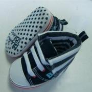 Bebé zapatos de lona con cordones
