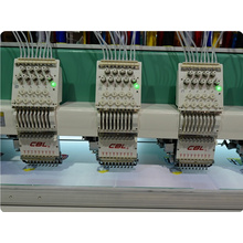 New condition 15 colors high speed flat computerized embroidery machine