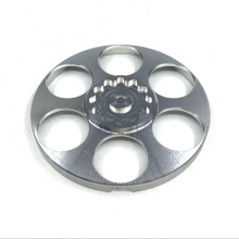 CNC Machined Aluminum Flanges Parts for Ducting