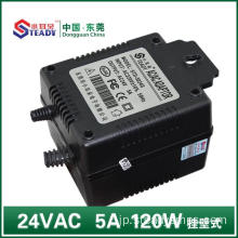 24VACリニア電源120W