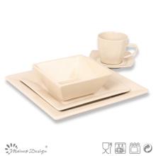 Ensemble de dîner en forme de carré de 20 cm