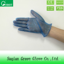 Cheap Vinyl Blue Disposable Gloves