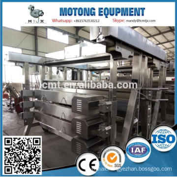 automatic halal chicken slaughter line design for broiler farming