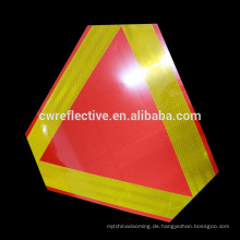 Alibaba benutzerdefinierte wasserdicht PVC Dreieck Reflektor Verkehrszeichen