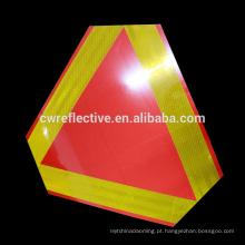 Alibaba personalizado à prova d 'água PVC triângulo sinal de tráfego refletor