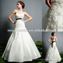 Schatzausschnitt-Hüllen-Hochzeits-Kleid