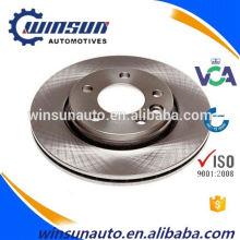 Pièces de système de freinage automatique de la grande demande 7H0615601B, disque de frein de Frando