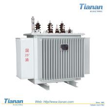 Transmetteur de puissance monté sur poteau / Transformateur de distribution Transformateur de type Immersed Step Down Oil