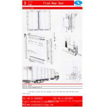 Acessórios para porta deslizante para carroçaria de caminhão