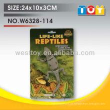 Novo produto brinquedos para crianças modelo educacional brinquedo de lagarto de borracha para venda