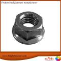 DIN6923 Carbon Hex Flange Nuts