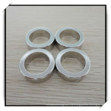 Permanente Ring Neodym/NdFeB Magnet mit Nickelbeschichtung