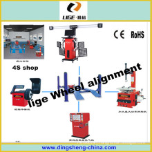 High Accuracy Wheel Aligner Diagnosis Alignment for 4s Tire Shop