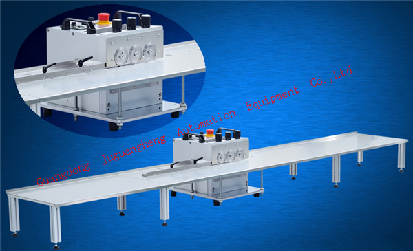 3-pole JGH-214 PCB cutting machine with 2.4m platform (4)