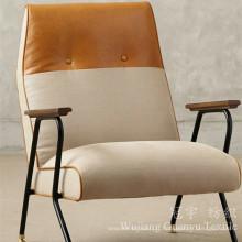 Aspect décoratif de toile de polyester de tissu de sofa avec le support de T / C