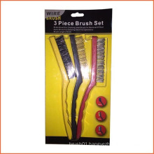 9 Inch Plastic Handle Wire Set Brush (YY-574)