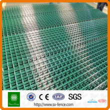 recinzione in filo diamantato con rete metallica