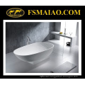 Fashional Design Matt/Glossy White Solid Surface/Stone Resin Bathtub (BS-8616)