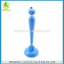 Novedad Linda animal con forma de pluma de bola promocional de escritorio
