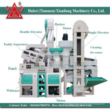 Precio de la maquinaria del molino de arroz de la máquina de proceso del arroz del equipo de Agri en Paquistán