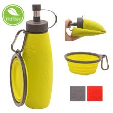 Botella de agua portátil para viajes deportivos para mascotas
